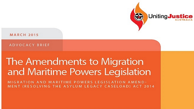The Amendments to Migration and Maritime Powers Legislation